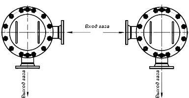 Фильтр газовый ФГ-50, ФГ-80, ФГ-100, ФГ-150, ФГ-200: