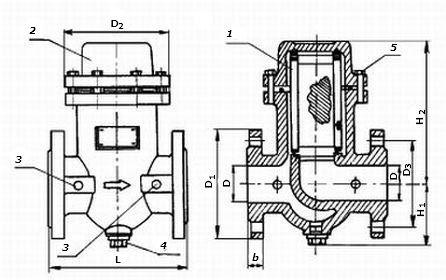 Фильтры газа ФГ16-50 (-В) с ДПД, ФГ16-80 (-В) с ДПД, ФГ16-100 (-В) с ДПД