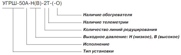 Установки газорегуляторные шкафные УГРШ-50А-Н(В)- 2Т(-О)