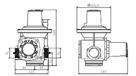 Регулятор давления серии HP 100