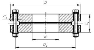 Изолирующие фланцевые соединения ИФСТ