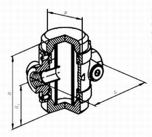 Фильтры газовые ФН½-2.1, ФН¾-2.1, ФН1-2.1 муфтовые (на давление до 0,3 МПа)