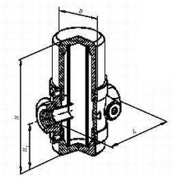Фильтры газовые ФН½ -2.2, ФН¾-2.2, ФН1-2.2 муфтовые (на давление до 0,3 МПа)