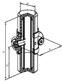 Фильтры газовые ФН½-2.3, ФН¾-2.3, ФН1-2.3 муфтовые (на давление до 0,3 МПа)