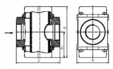 Фильтры газовые ФН1½-2, ФН2-2  муфтовые (на давление до 0,3 МПа)