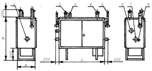 Газорегуляторные пункты шкафные ГРПШ-13-1Н(В)-У1, ГРПШ-15-1Н(В)-У1, ГРПШ-16-1Н(В)-У1