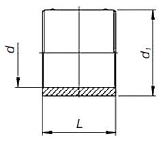 Муфта э. с. SDR 17 PE 100 PN 5 «Elgef Plus» с 2 зонами сварки