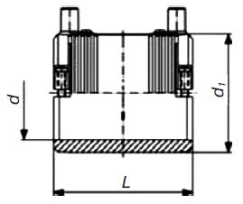 Муфта э. с. SDR 17 PE 100 PN 5 «Elgef Plus»