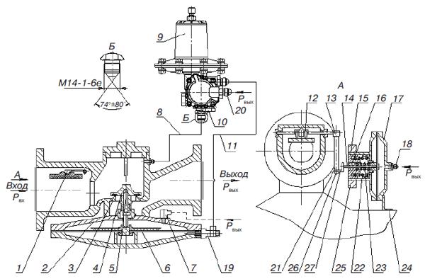 Схема регулятора давления тормозов фото 137